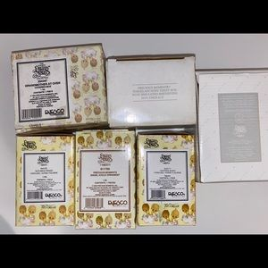 Lot of 6 Precious Moments Collectibles in boxes